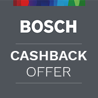 Claim Up To £100 Cashback On Selected Bosch Appliances
