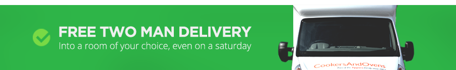Free 2 man delivery as standard into the room of your choice. Even on a Saturday