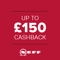 Claim back up to £100 on selected Neff Appliances in our Neff Cashback Deal