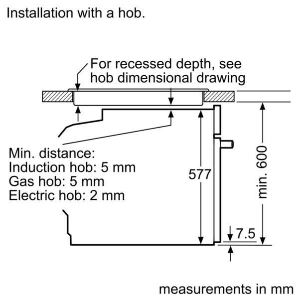 Buy Neff B57cs24n0b Slide Amp Hide Pyrolytic Single Oven