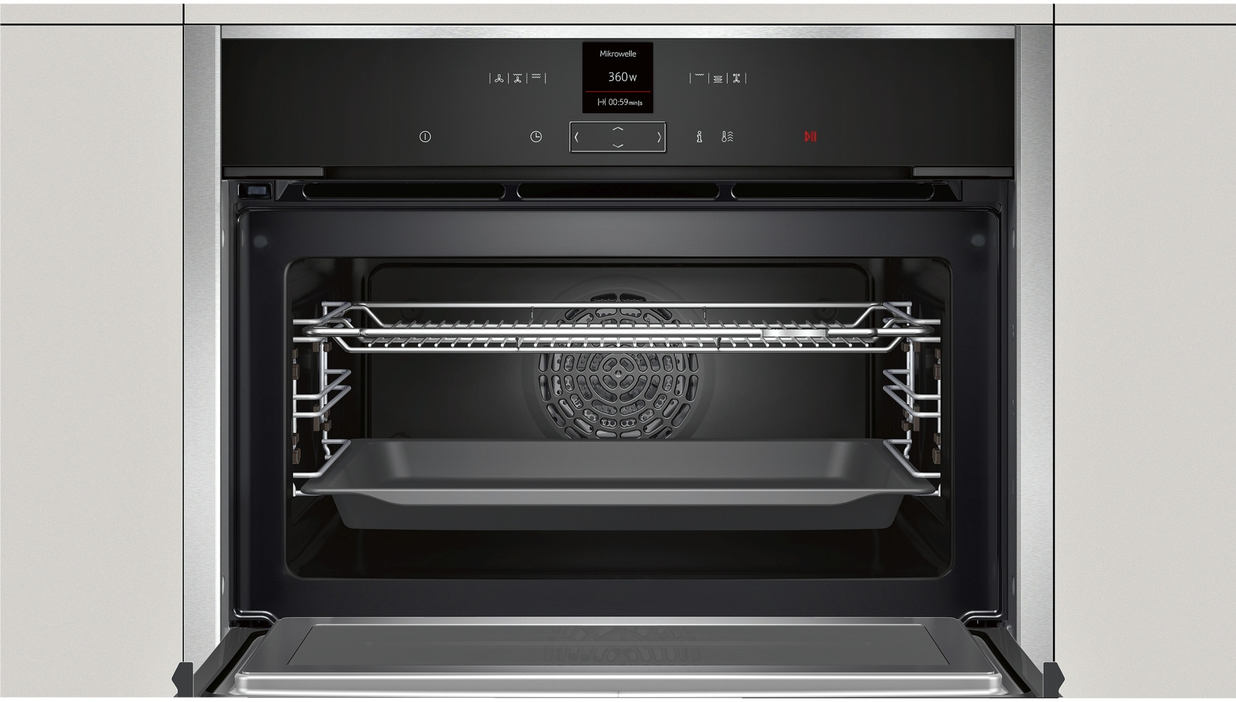 Buy Neff 45 Litre 1000w C17mr02n0b Compact Oven With
