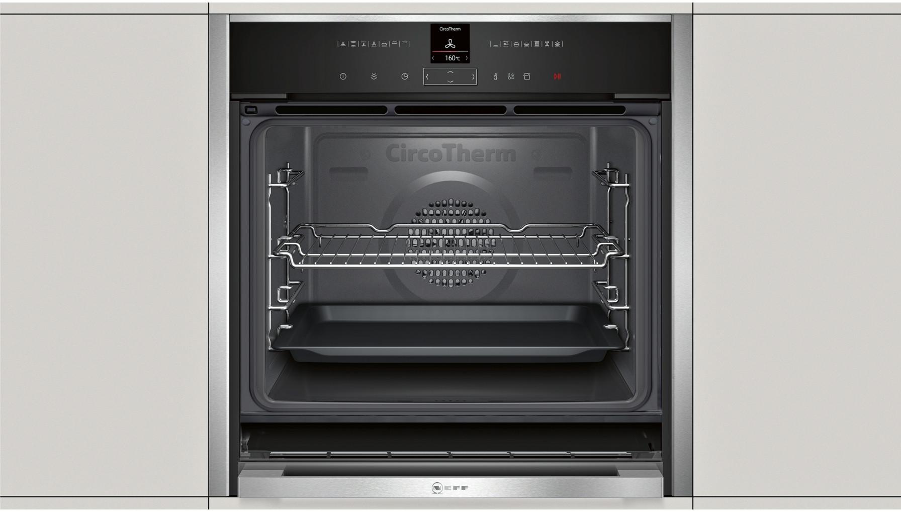 buy neff b47vr32n0b slide hide oven with variosteam b47vr32n0b. Black Bedroom Furniture Sets. Home Design Ideas