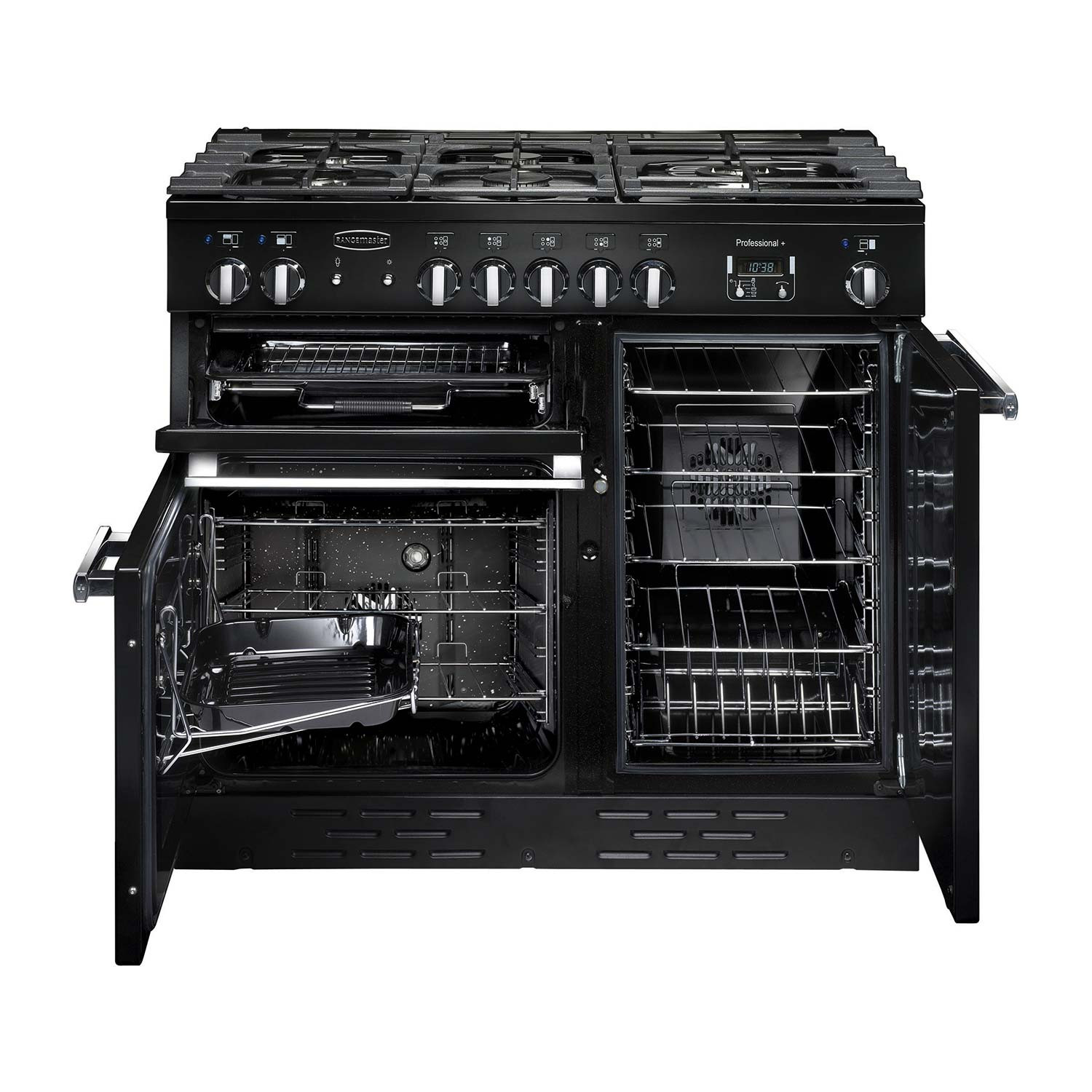 Rangemaster Professional Plus 90 Dual Fuel Black Range