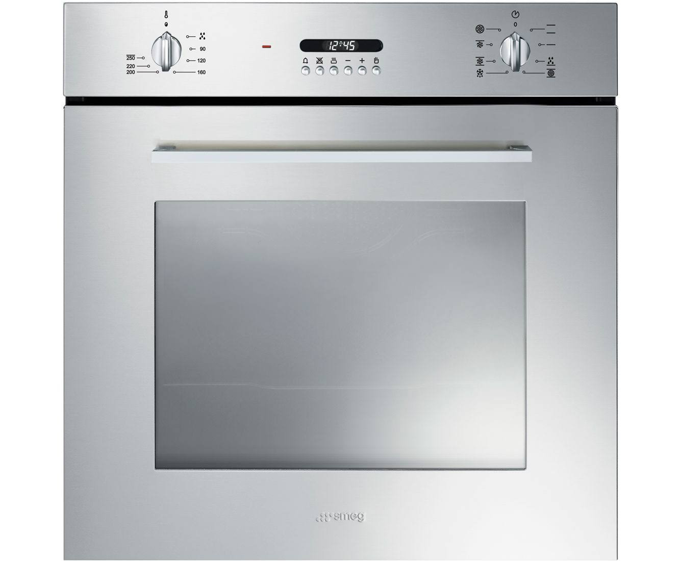 Buy smeg cucina built in 60cm stainless steel single oven for Cucina smeg