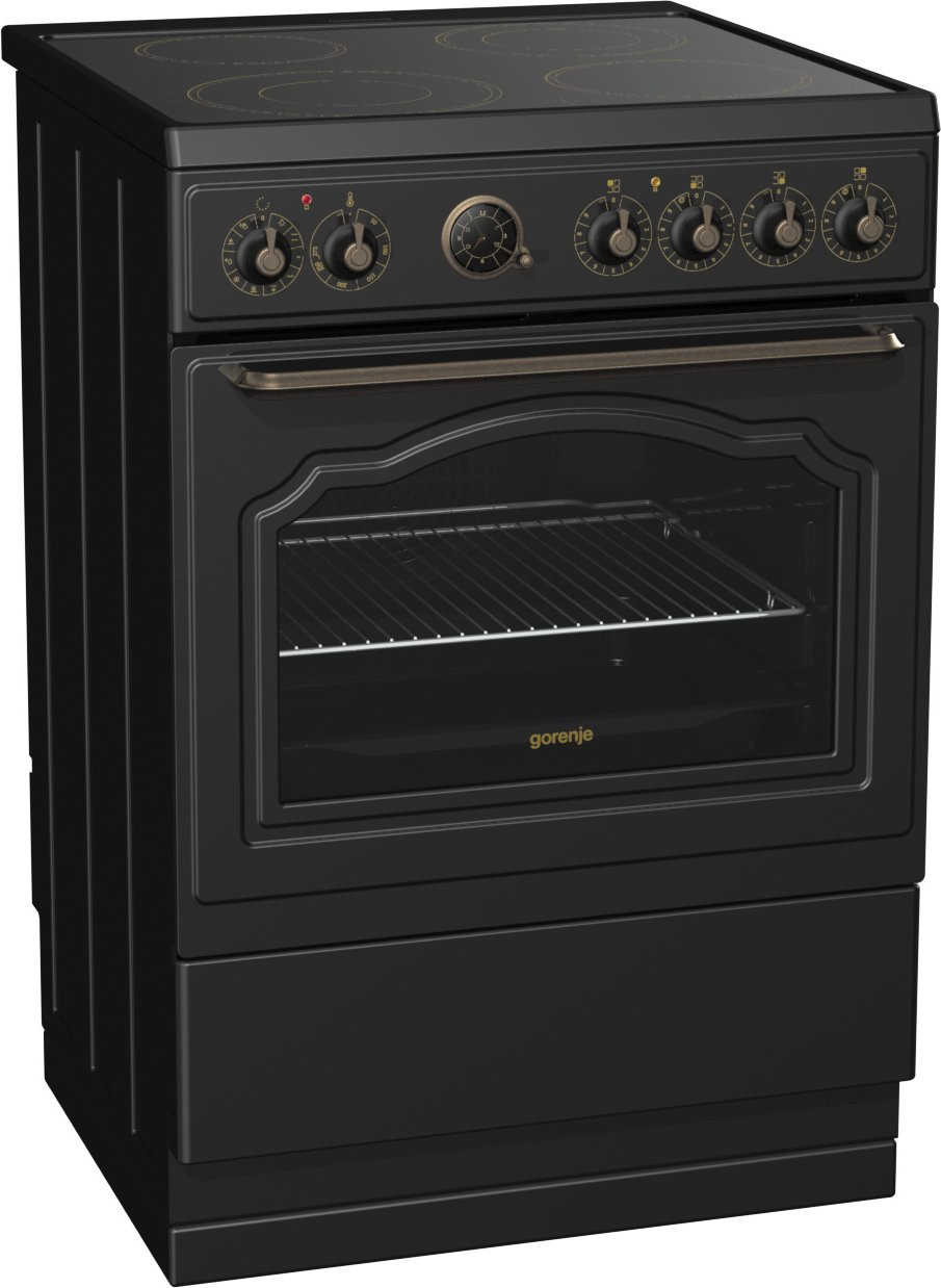 buy gorenje classico black electric cooker ec67clb ec67clb. Black Bedroom Furniture Sets. Home Design Ideas