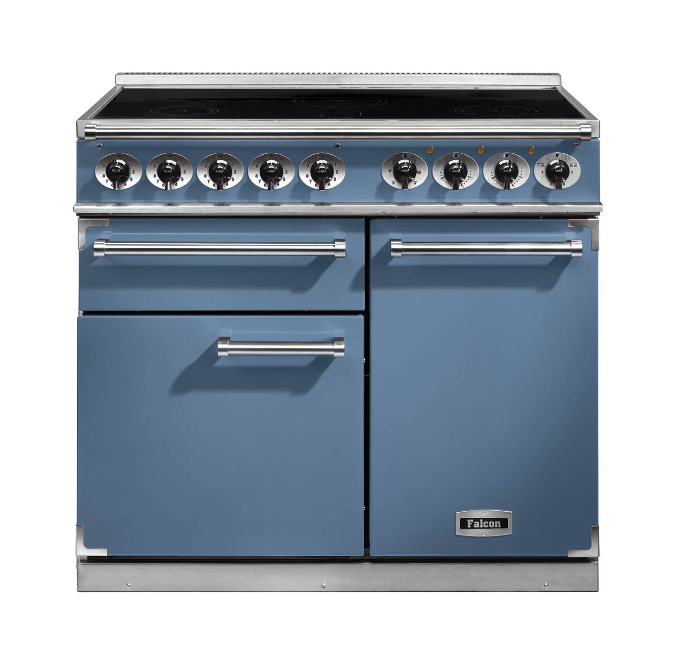 buy falcon 1000 deluxe induction range cooker china blue. Black Bedroom Furniture Sets. Home Design Ideas