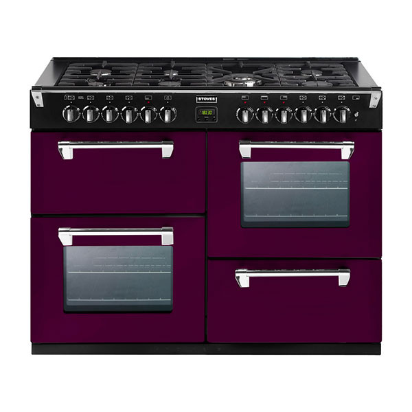 Stoves Richmond 1000GT Wild Berry 100 Gas Range Cooker