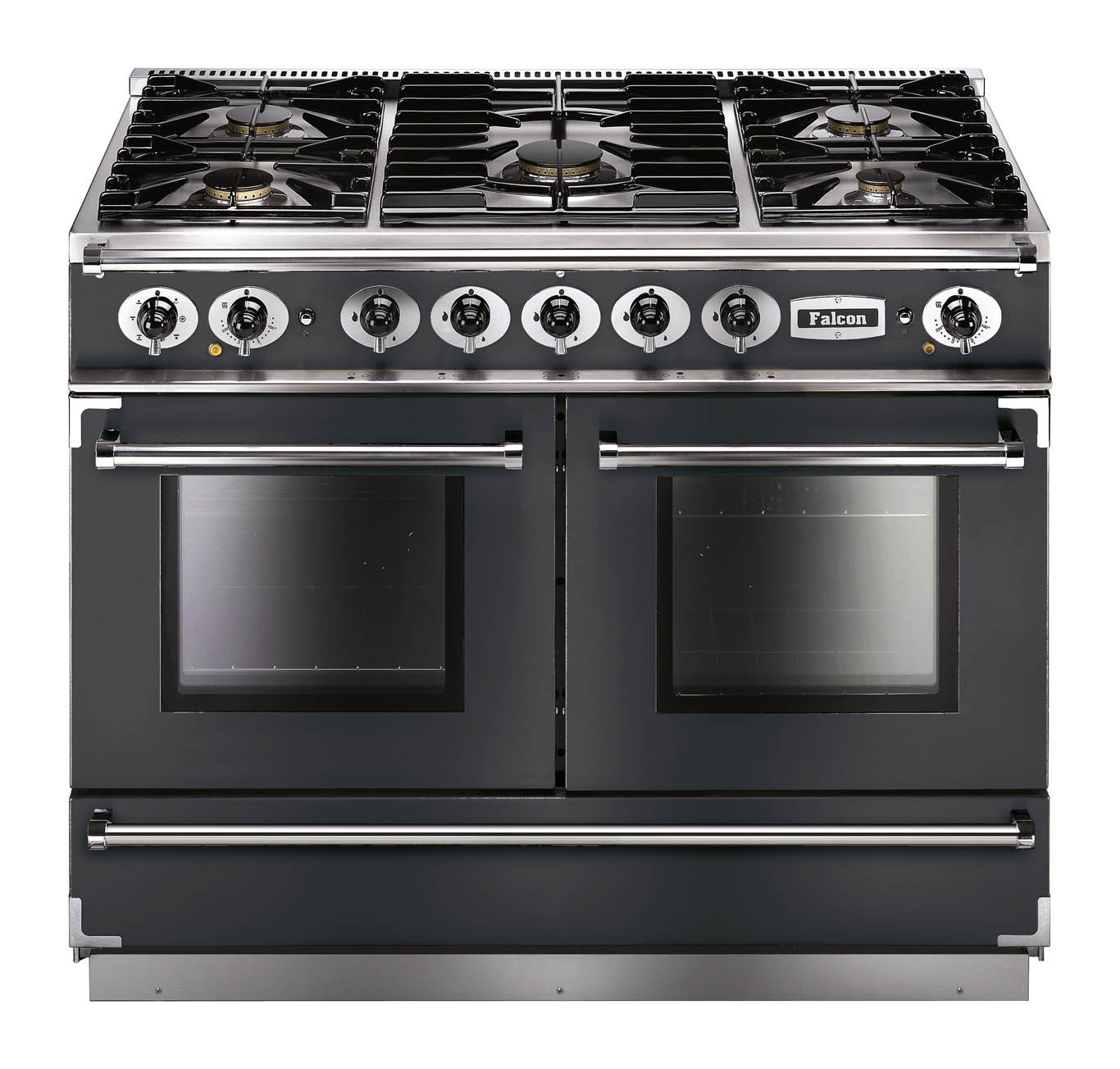Falcon Continental 1092 Dual Fuel Slate Range Cooker with Matt Pan Supports