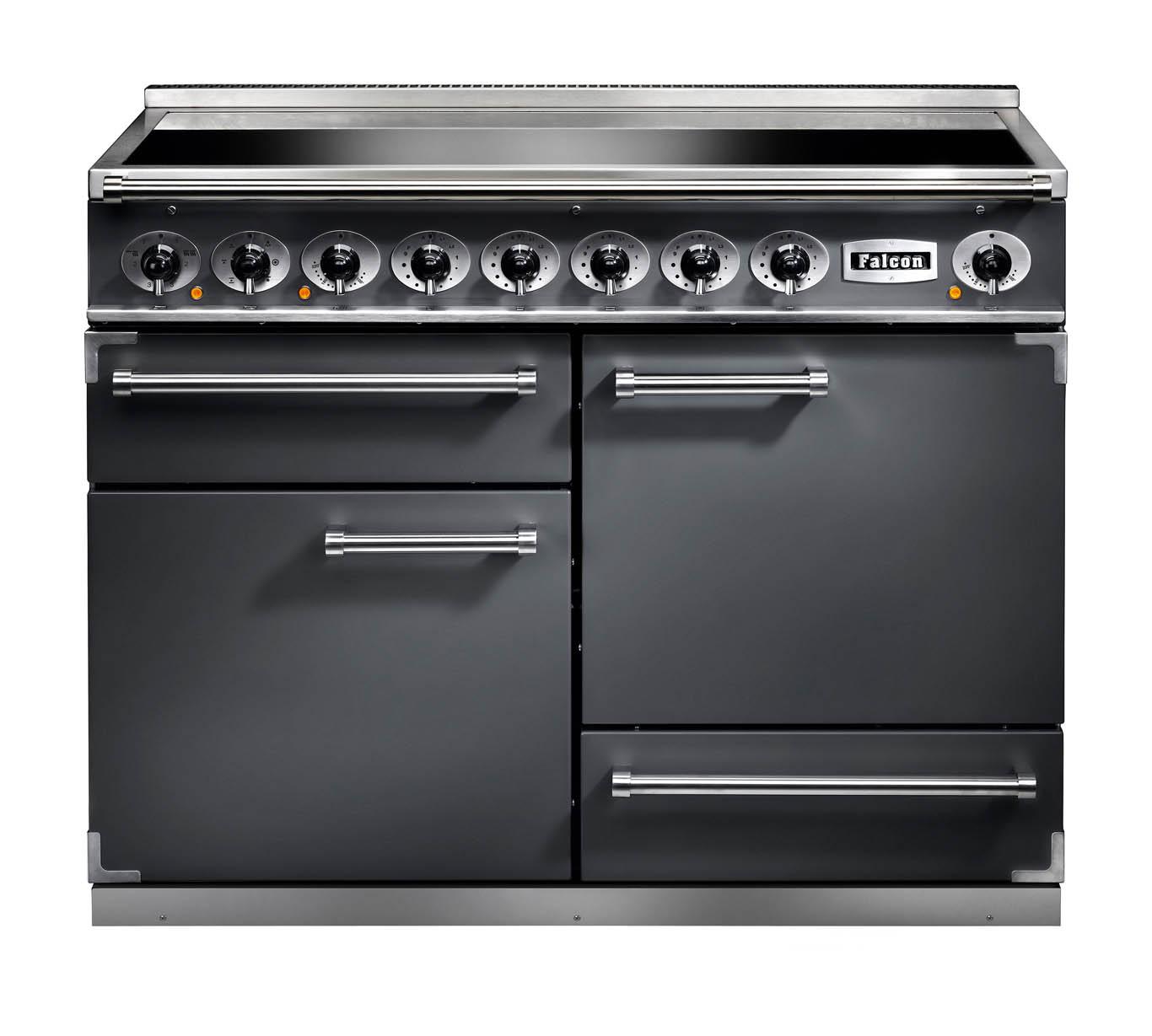Falcon 1092 Deluxe Induction Slate/Nickel Range Cooker