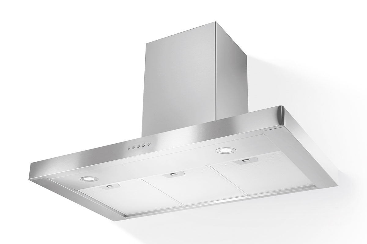 Faber Stilo 120cm Stainless Steel Chimney Hood