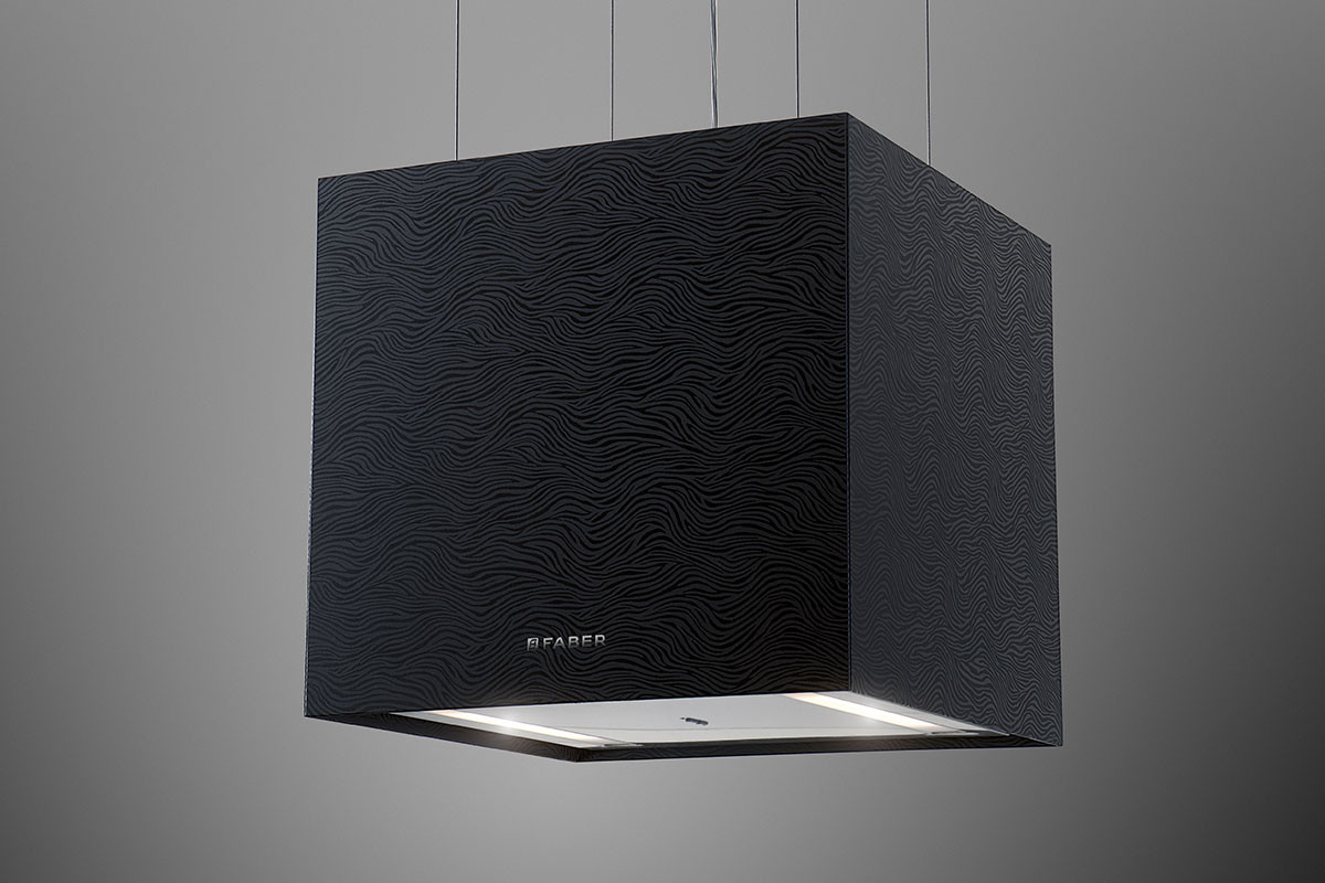 Faber Lybra Plus 40.9cm Black Striped Glass F-Light Hood