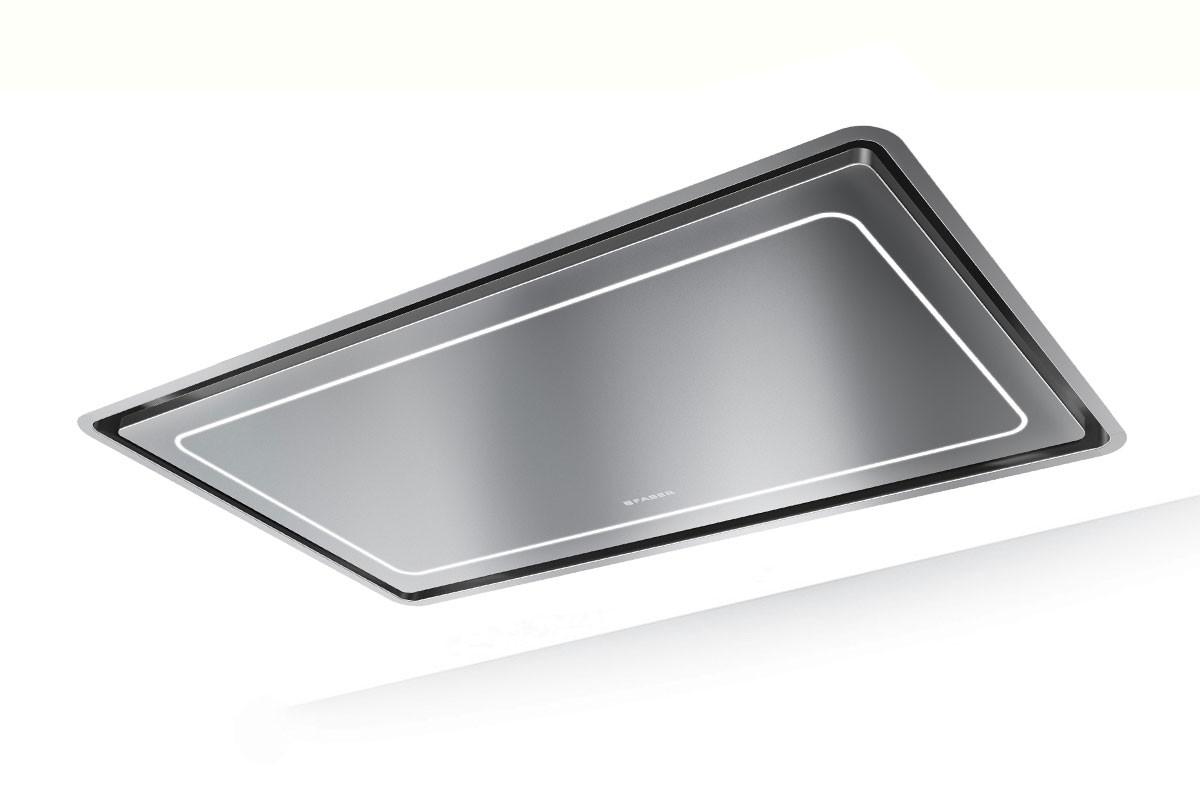Faber High-Light 121cm Stainless Steel Ceiling Hood