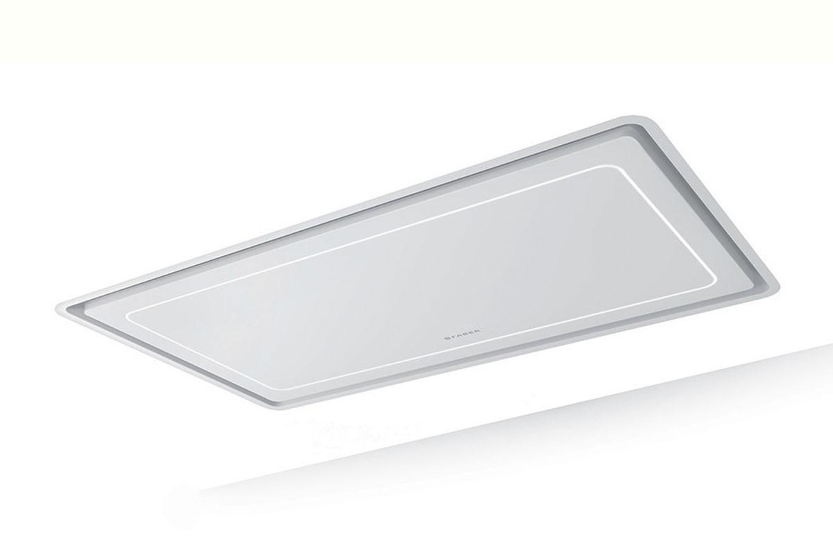 Faber High-Light 121cm Matt White Ceiling Hood