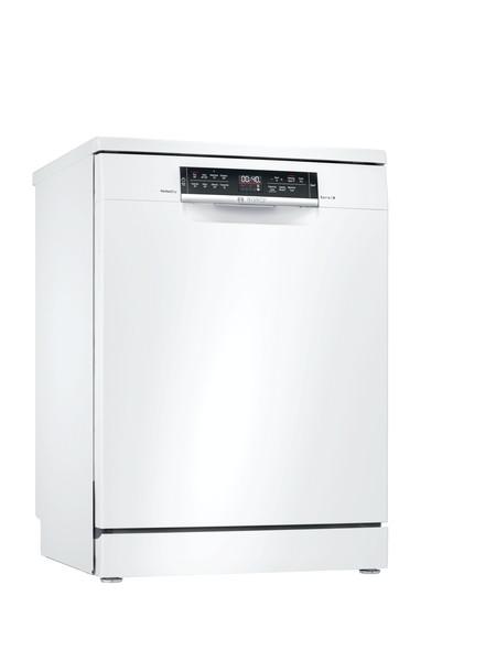 Bosch Serie 6 60cm White Freestanding Dishwasher SMS6ZDW48G