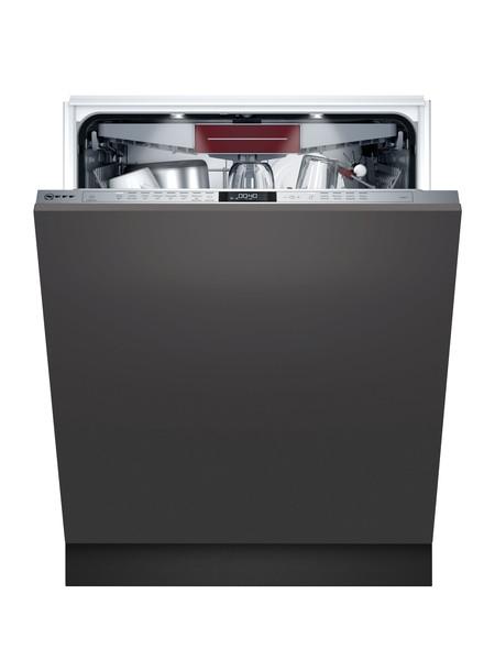 Neff N70 S187ECX23G Fully Integrated 60cm Dishwasher