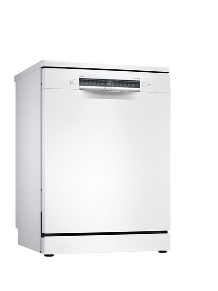 Bosch Serie 4 60cm White Freestanding Dishwasher SMS4HCW40G