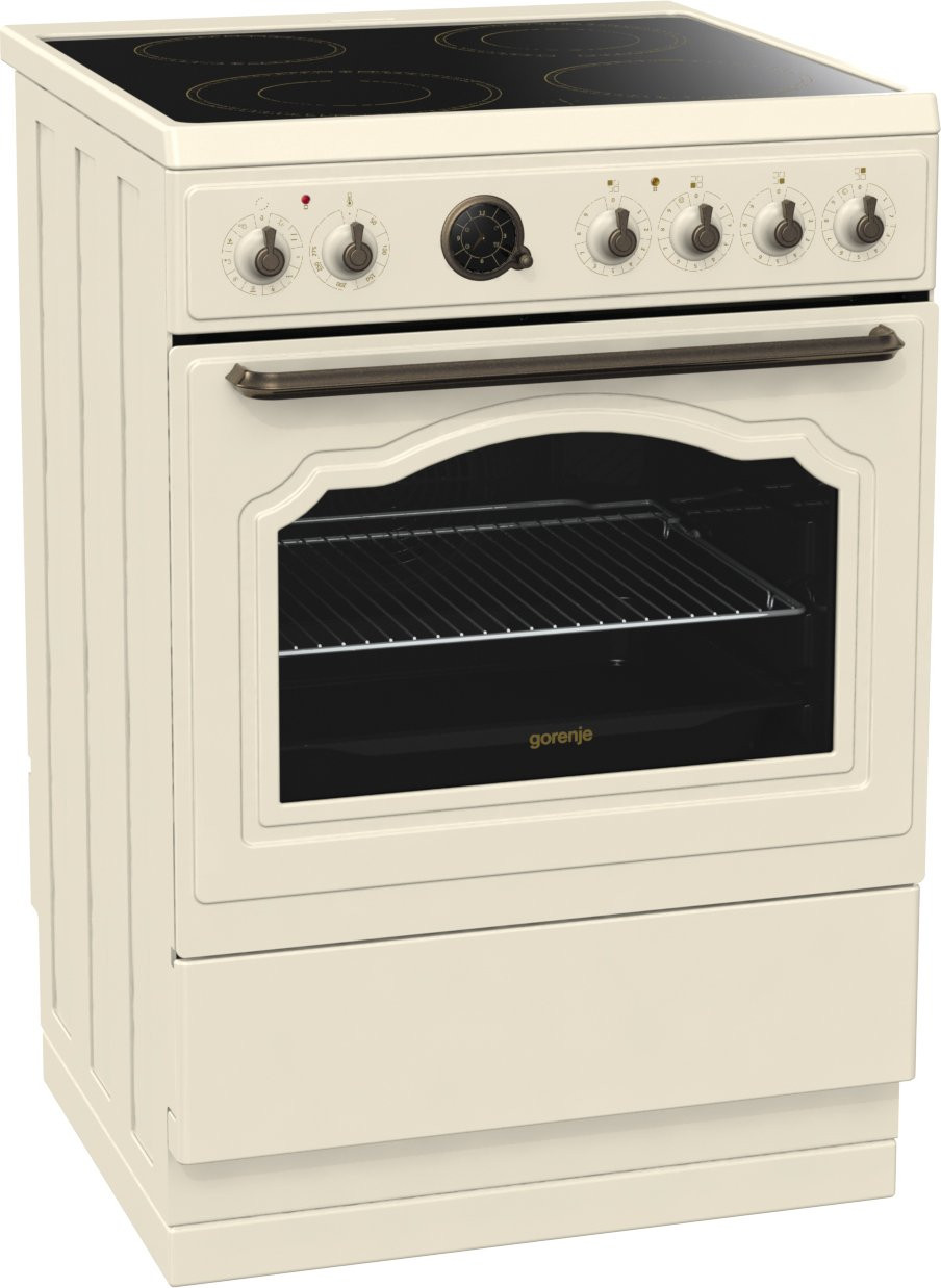 Gorenje Classico Ivory Electric Cooker EC67CLI