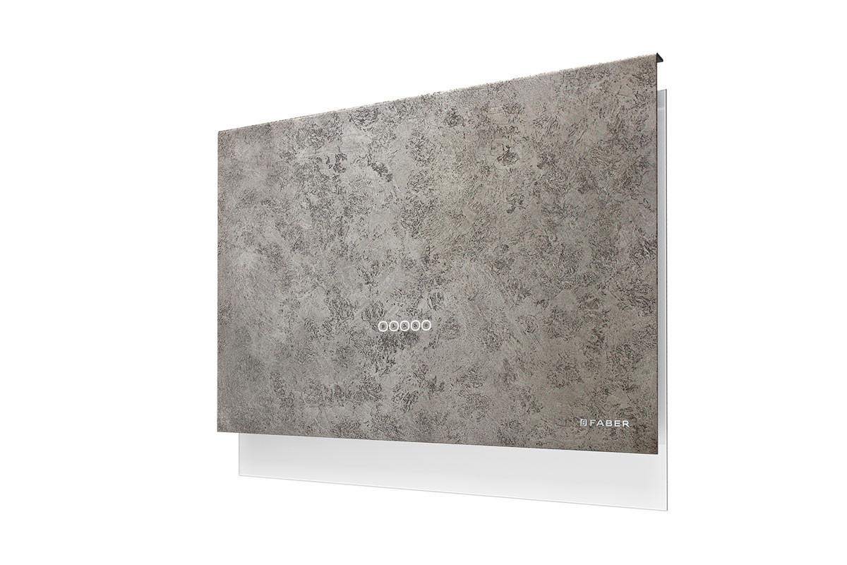 Faber Talika 80cm Dark Grey Concrete Hood