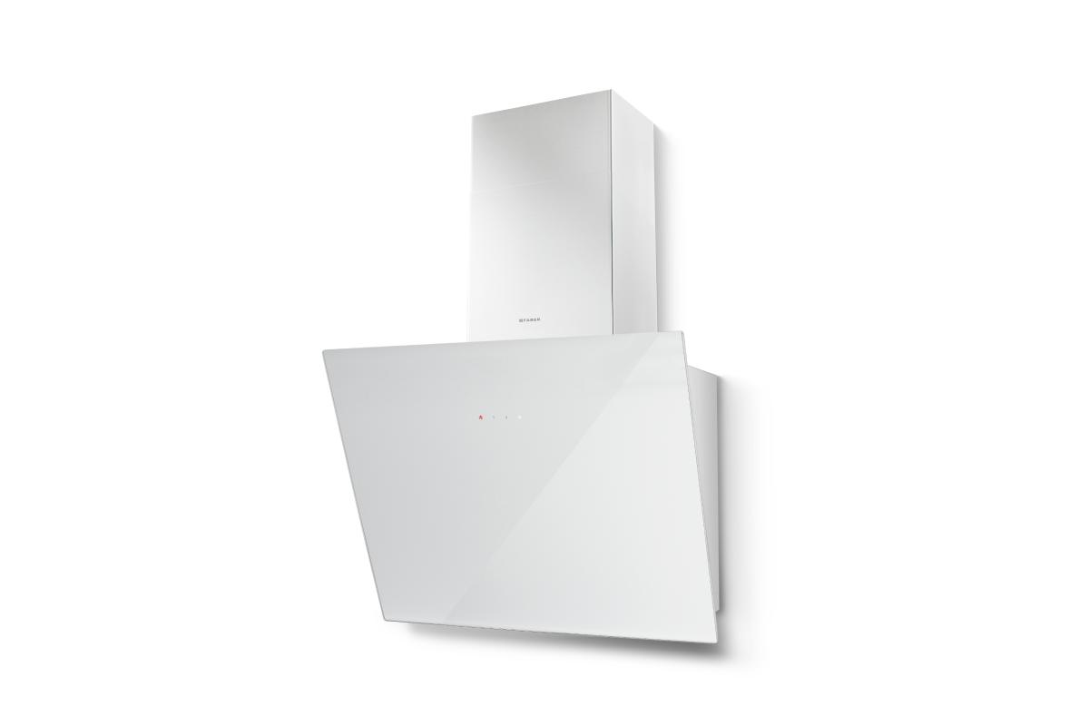Faber Tweet 55cm White Glass Wall Hood