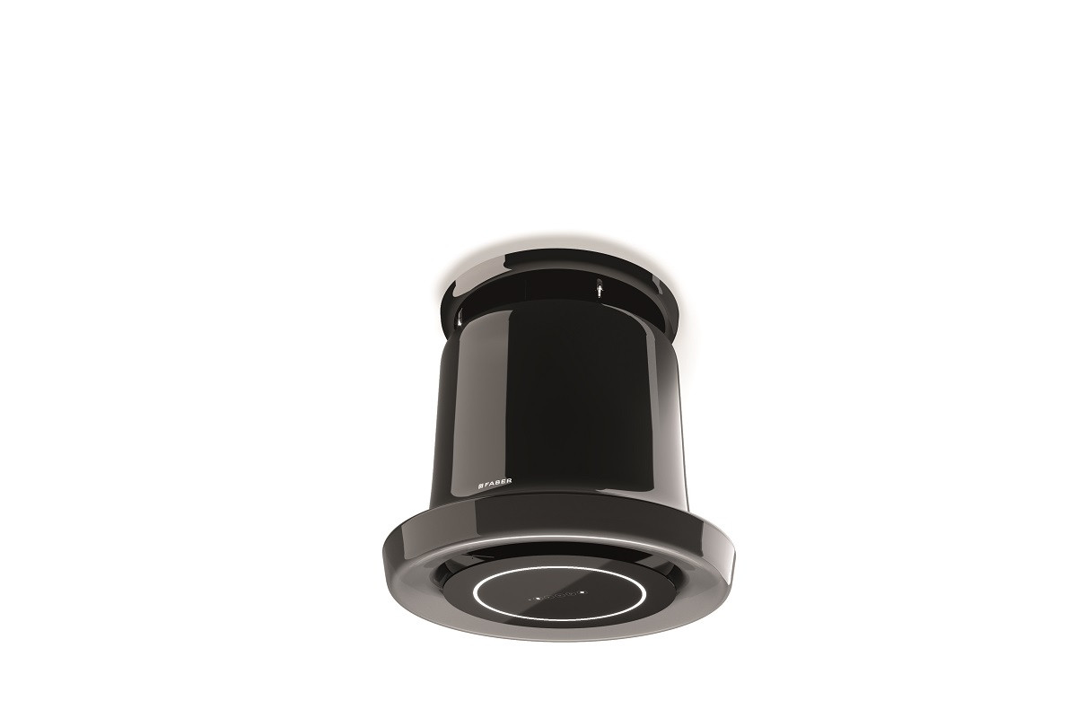 Faber Glow 69.5cm Black Nickel F-Light Hood