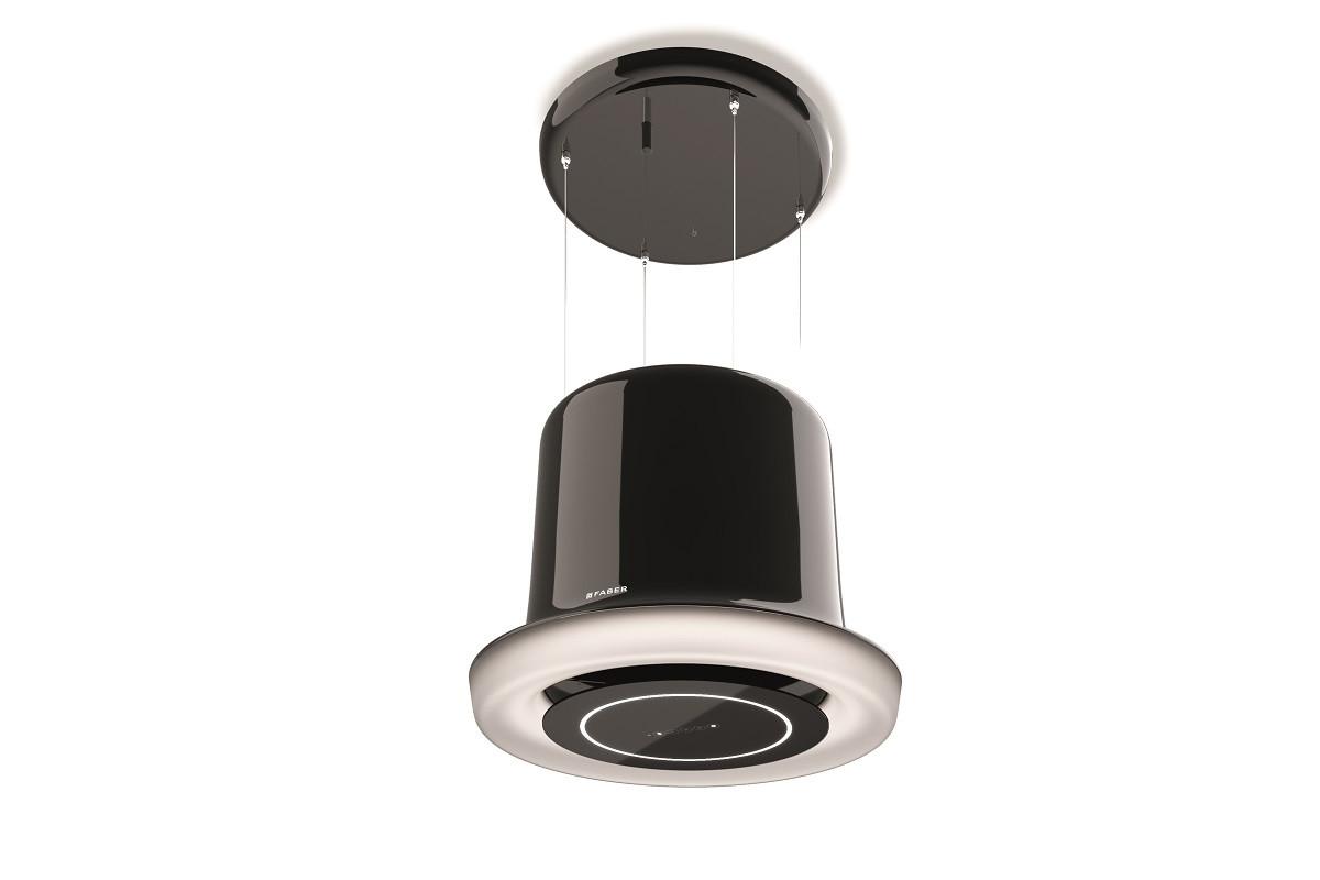 Faber Glow Plus 69.5cm Black Nickel F-Light Hood