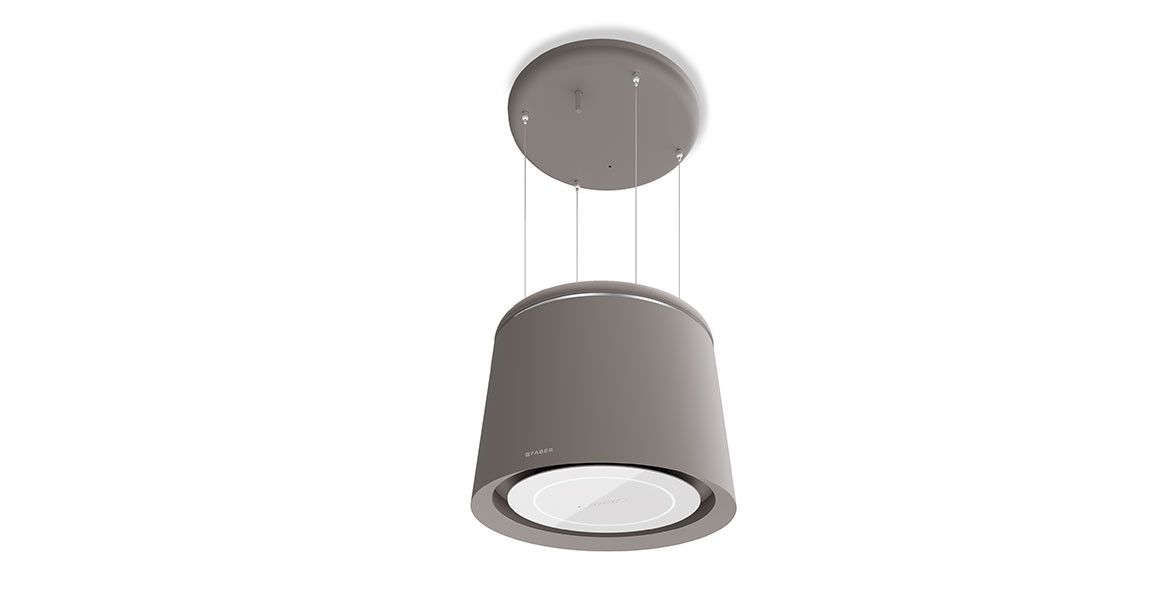 Faber Celine Plus 60cm Country Grey Matt F-Light Hood