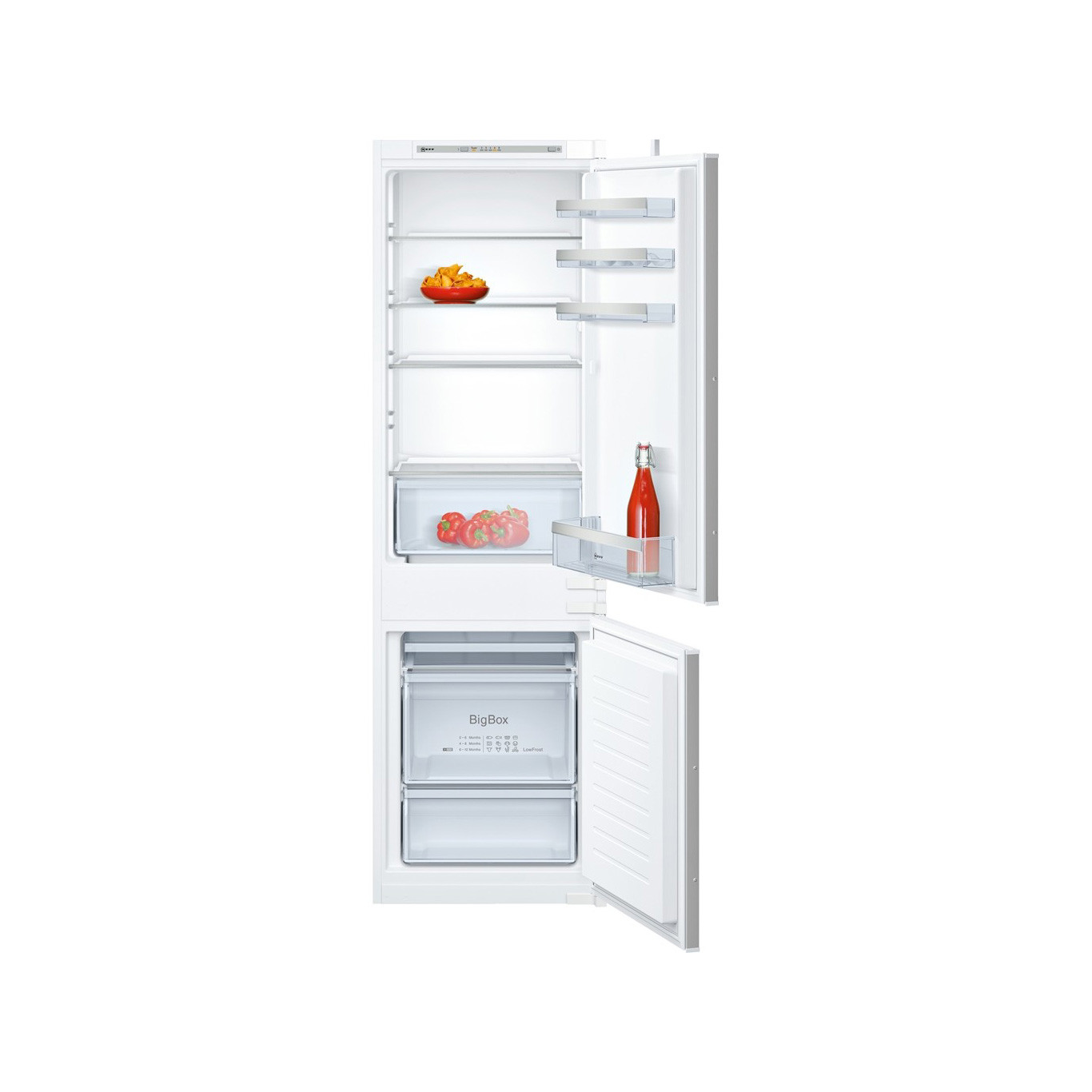 Neff N50 Built-In Fully Integrated 60/40 Fridge Freezer KI5862SF0G