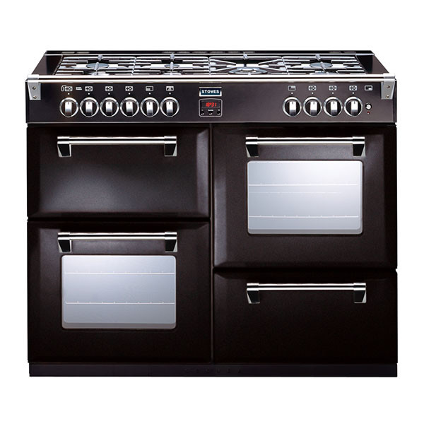 Stoves Richmond 1100DFT Black Dual Fuel Range Cooker