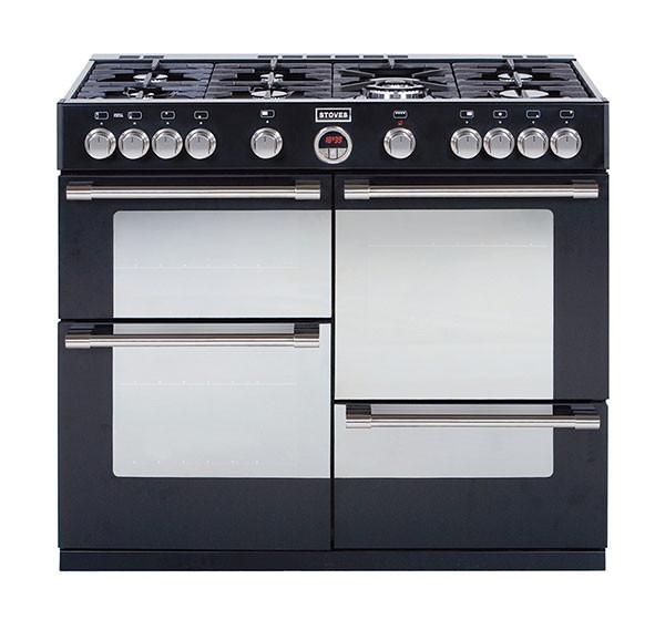 Stoves Sterling 1000GT Black 100 Gas Range Cooker