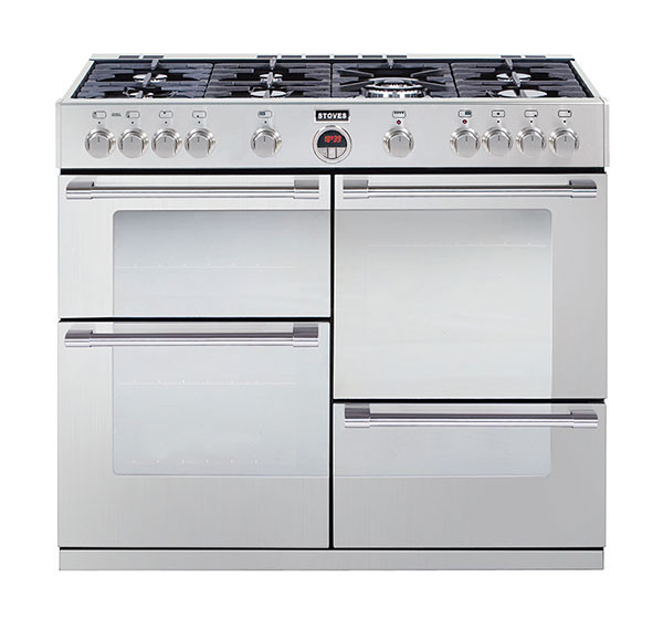 Stoves Sterling 1000GT Stainless Steel 100 Gas Range Cooker