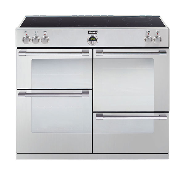 Stoves Sterling 1100Ei Stainless Steel 110 Induction Range Cooker