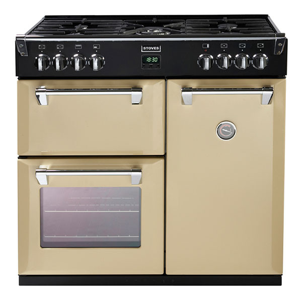 Stoves Richmond 900GT 90 Gas Champagne Range Cooker
