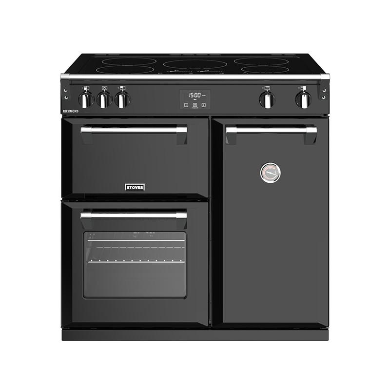 Stoves Richmond S900EI Induction Black 90 Range Cooker 444444445