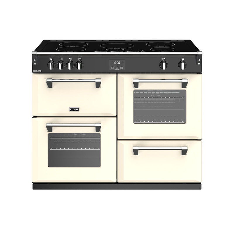 Stoves Richmond S1100EI Induction Classic Cream 110 Range Cooker 444444476