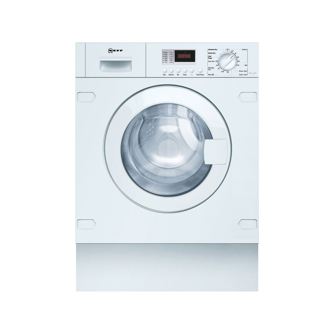 Neff V6320X1GB Fully Integrated Automatic 7kg B Rated Washer Dryer