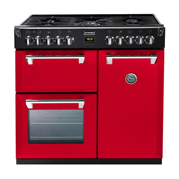 Stoves Richmond 900DFT Hot Jalapeno 90 Dual Fuel Range Cooker