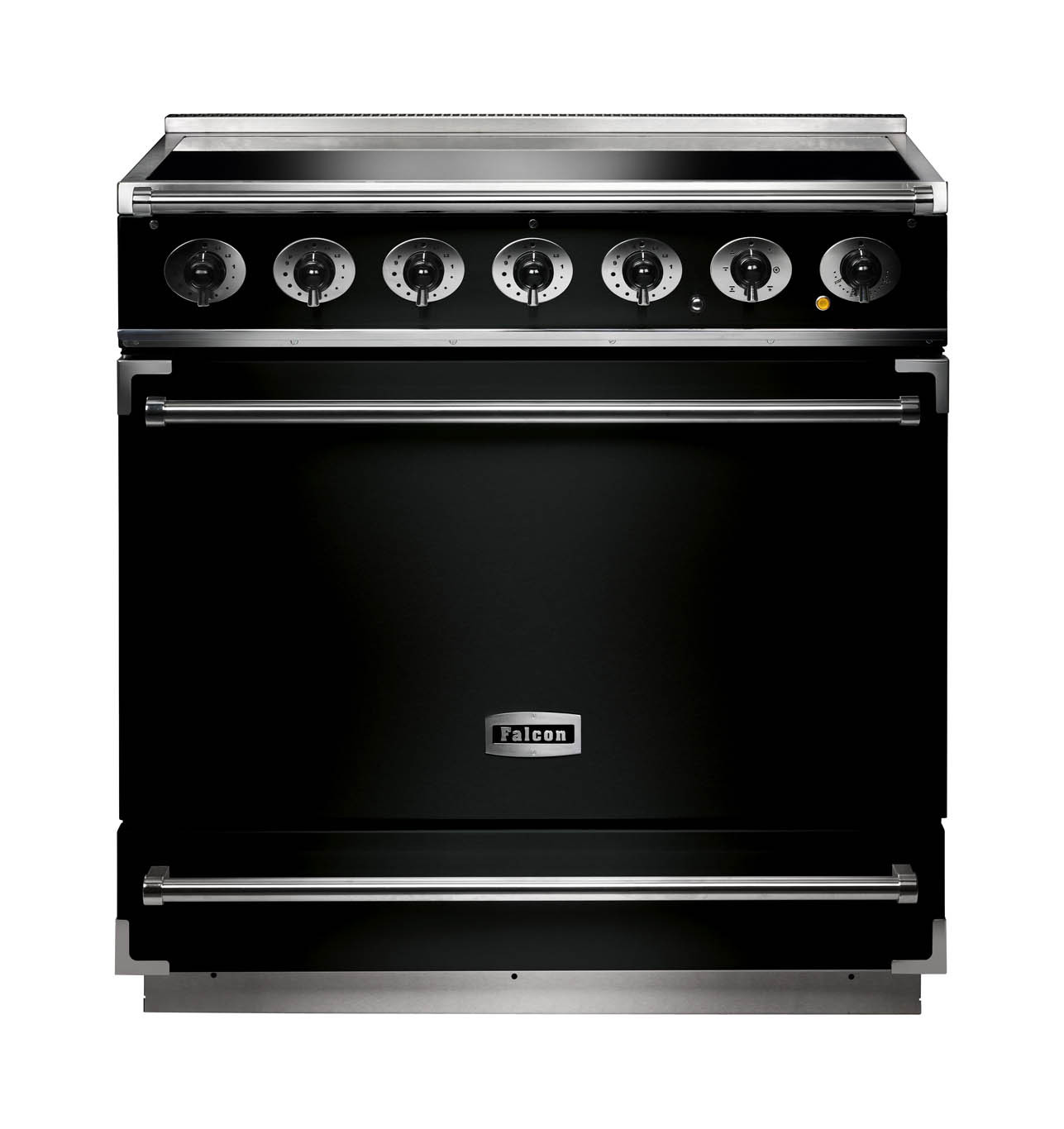 Falcon 900S Induction Black Range Cooker