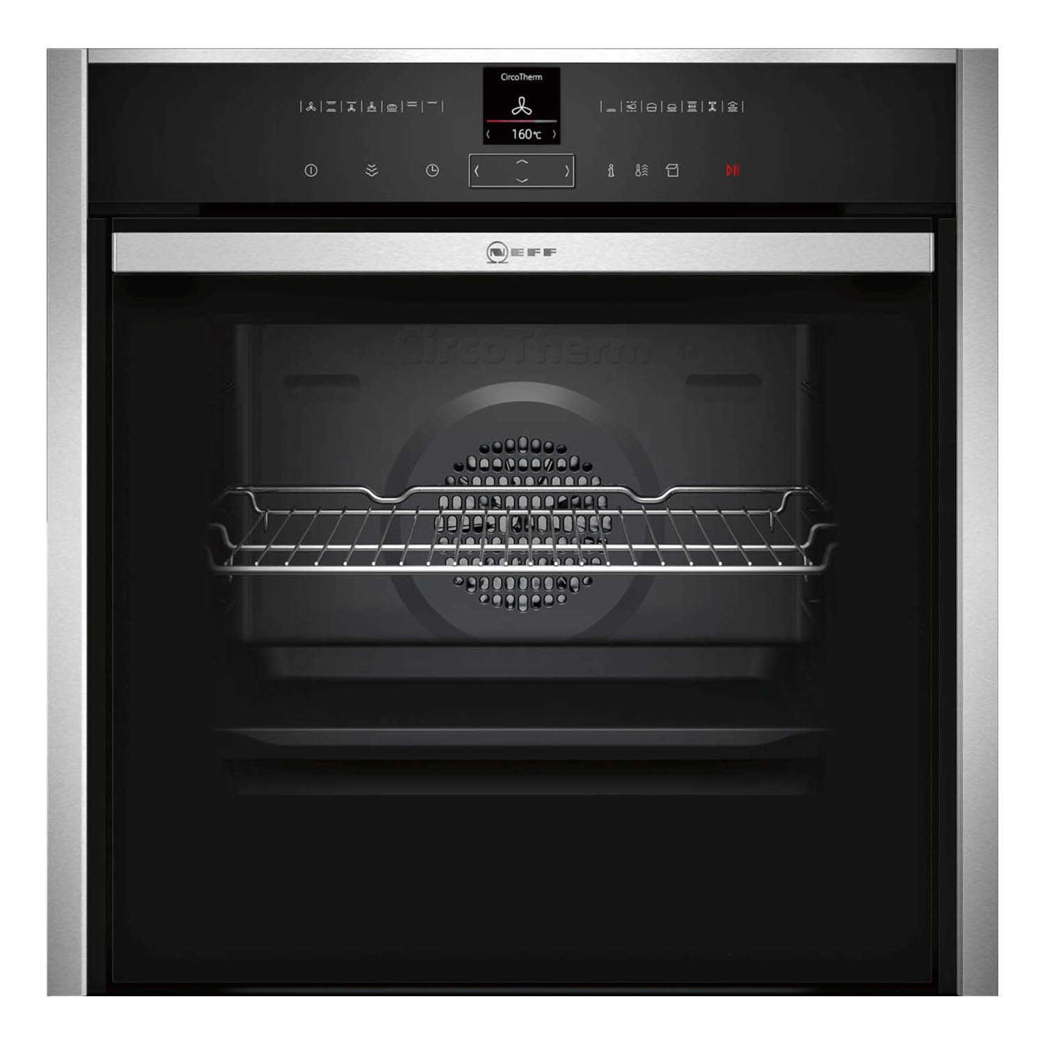Neff N70 Slide & Hide Oven with VarioSteam B47VR32N0B