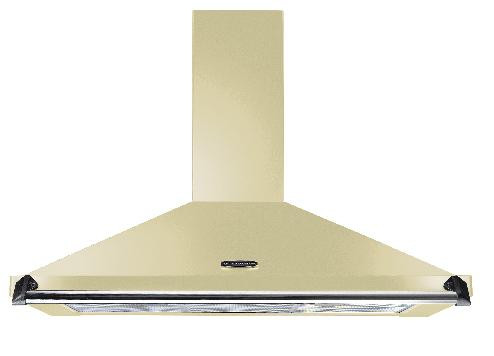 Rangemaster Classic 110cm Cooker Hood Cream with Chrome Rail CLAHDC110CR/C 92840