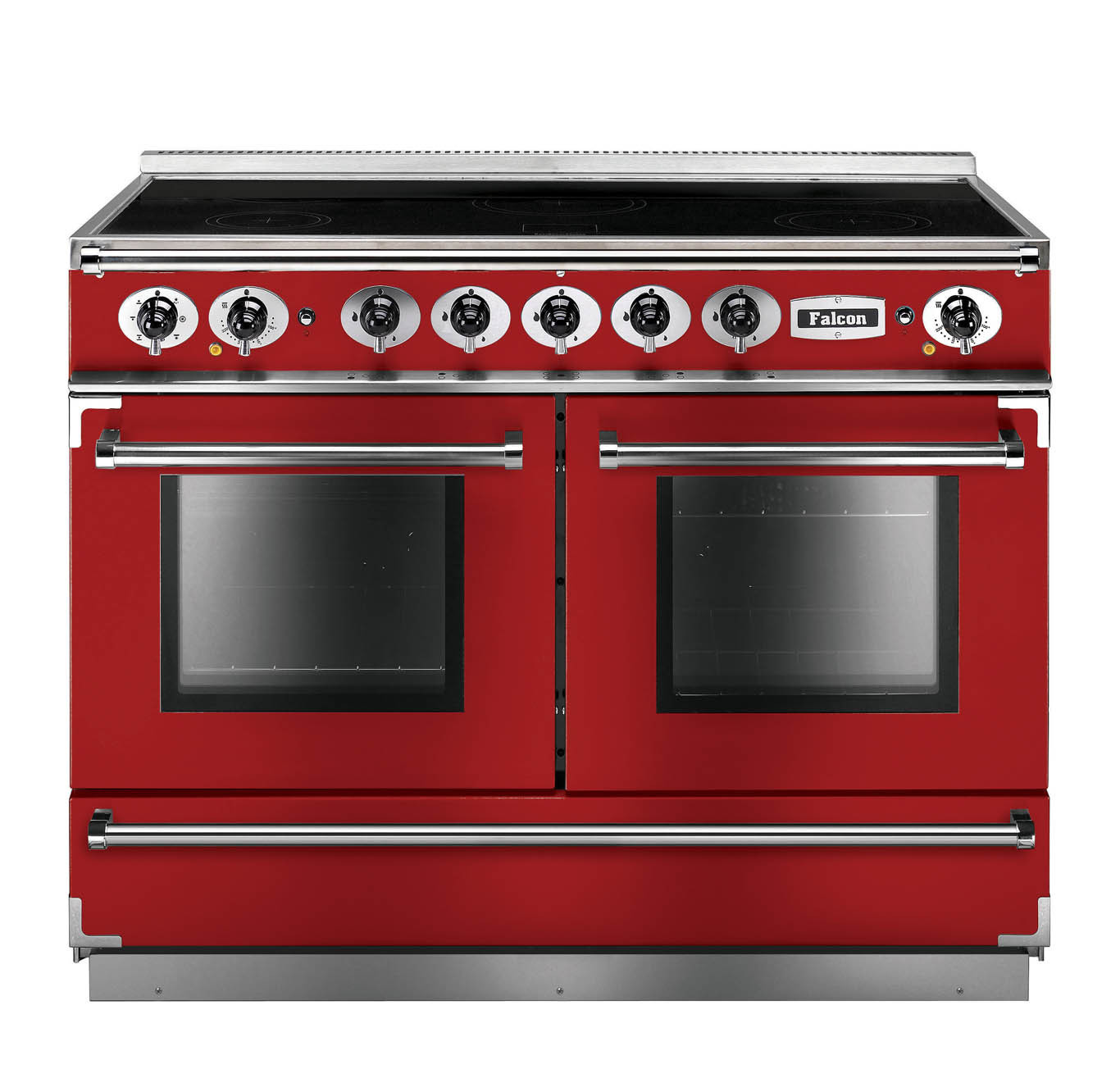 Falcon Continental 1092 Induction Cherry Red Range Cooker