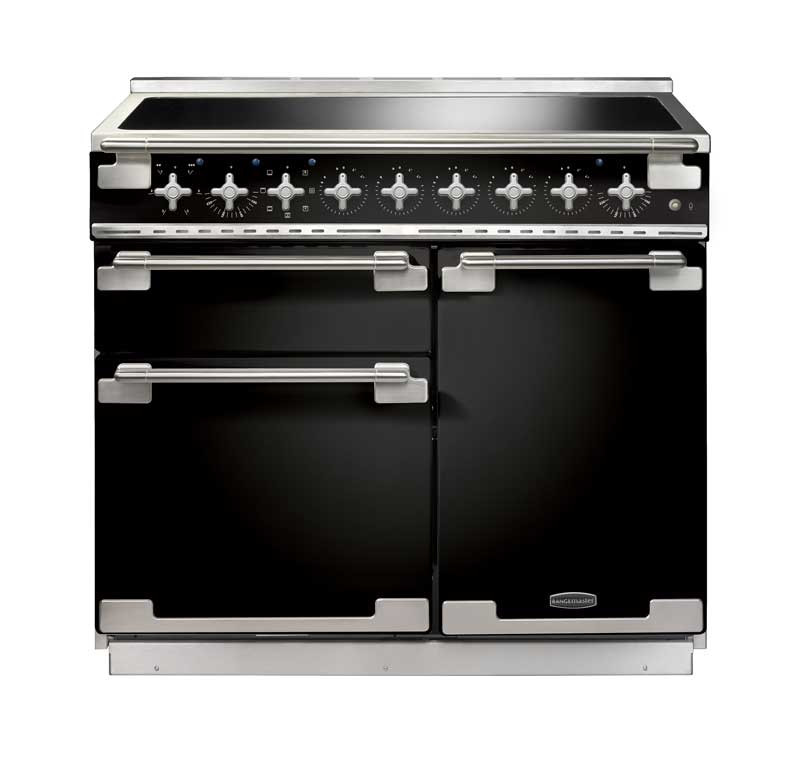 Rangemaster Elise 100 Induction Black Range Cooker ELS100EIGB/ 100160