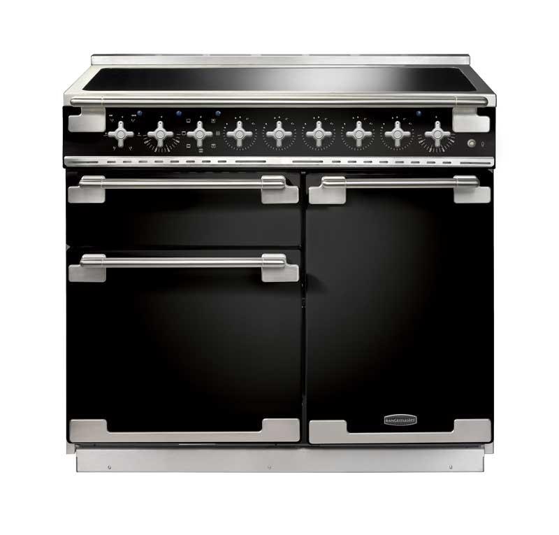 Rangemaster Elise 100 Induction Black Range Cooker 100160