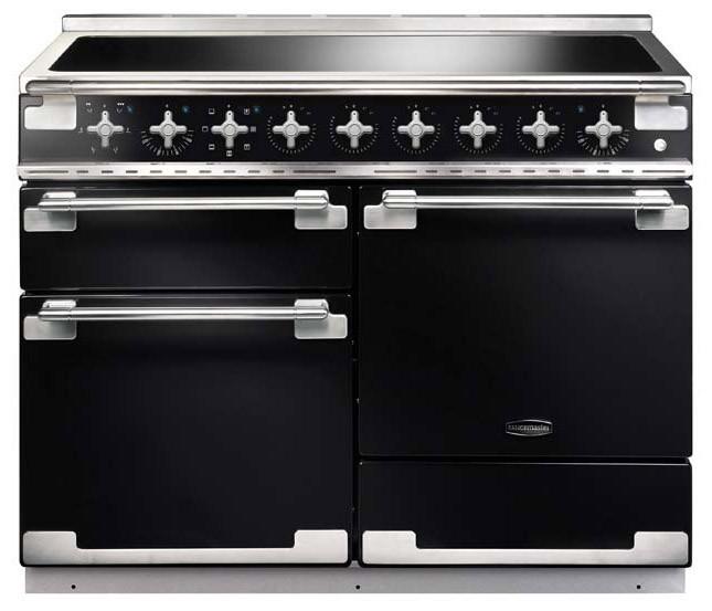 Rangemaster Elise 110 Induction Black Range Cooker 100320