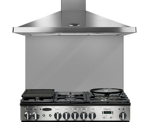 Rangemaster 100cm Glass Splashback Grey UNBSP994GY/ 107560