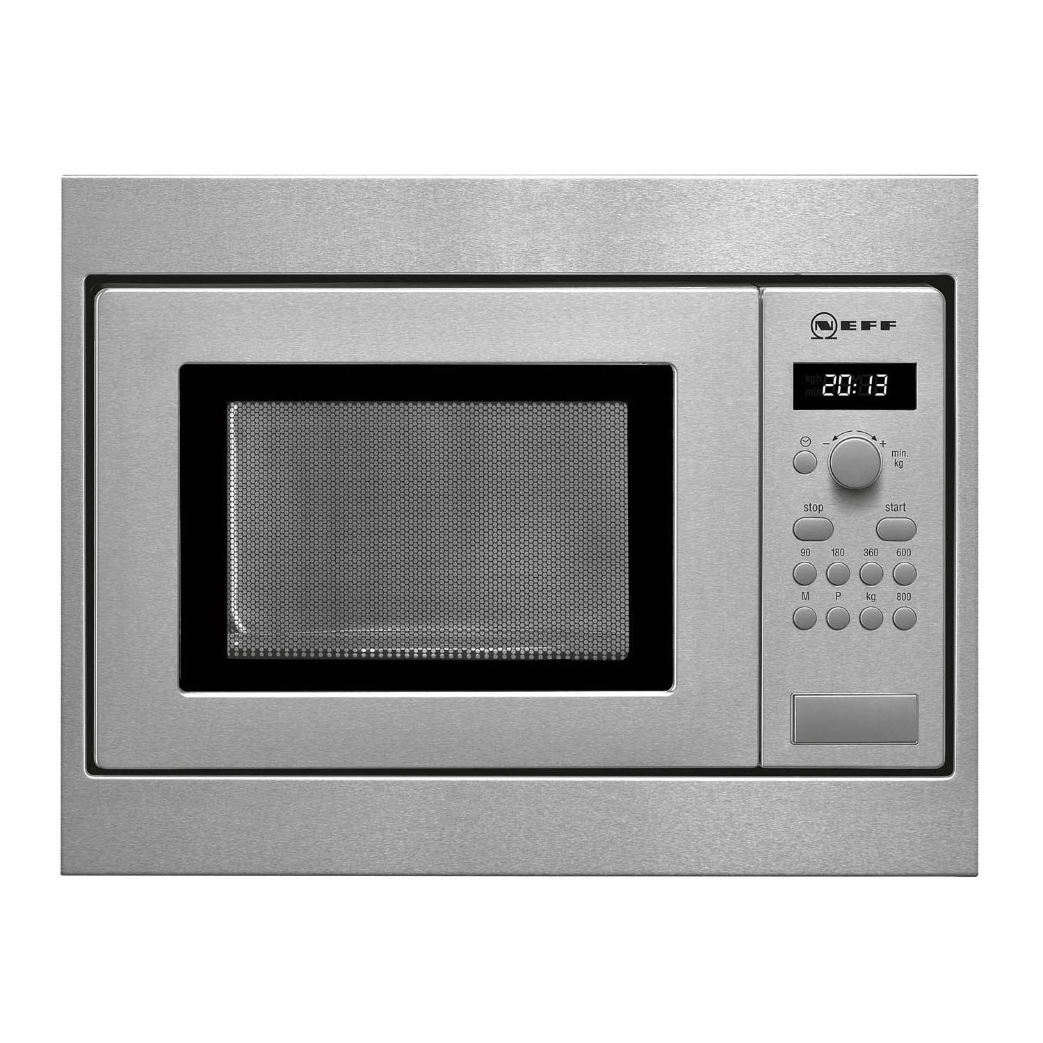 Neff 17 Litre 800W Stainless Steel Integrated (Built-In) Microwave Oven