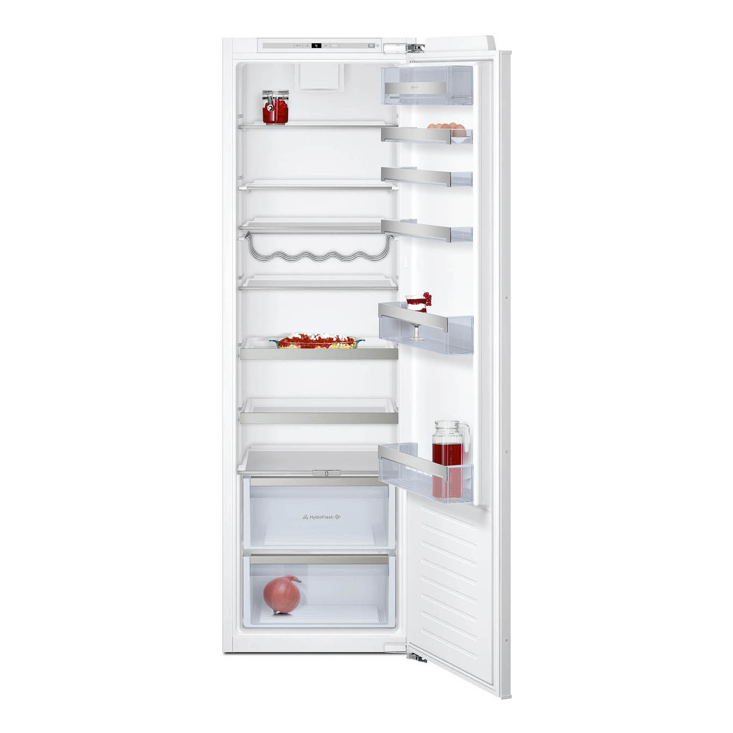 Neff N70 Built-In Fully Integrated FreshSafe 177cm Tall Larder Fridge KI1813FE0G