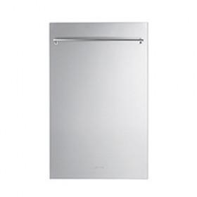 Smeg 45cm Stainless Steel Door Panel Kit