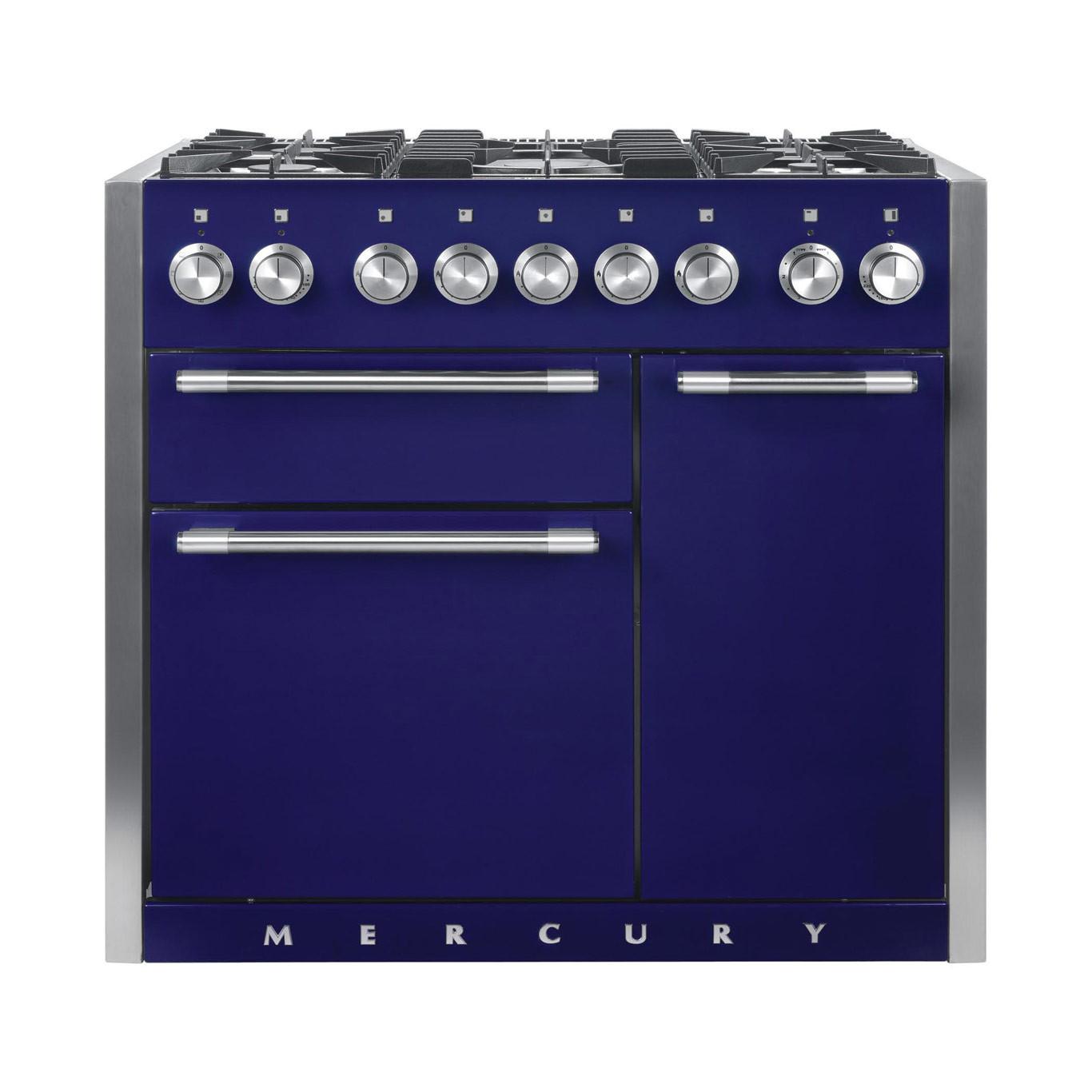 Mercury MCY1000DF Dual Fuel Blueberry Range Cooker