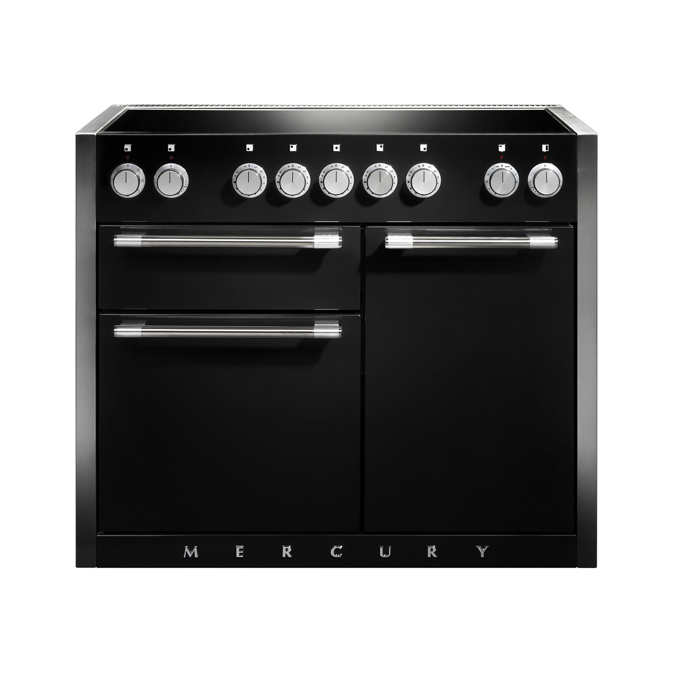 Mercury MCY1082EI Induction Ash Black Range Cooker