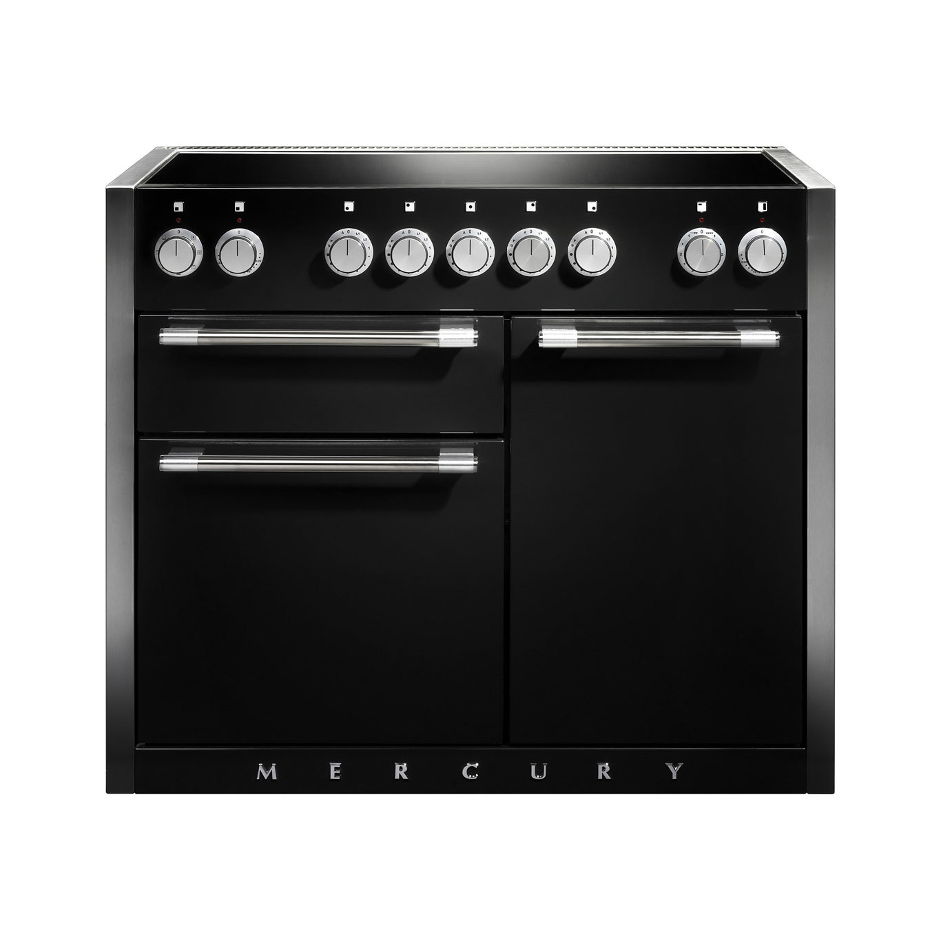 Mercury MCY1082EI Induction Liquorice Range Cooker